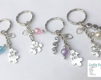 Free P and P ~ Handmade Name Personalised Charm ~ Best Friends ~ BFF ~ Thank You ~ Party Filler
