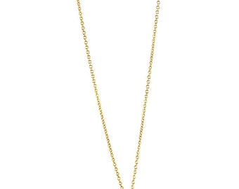"""Long necklace""""Solile"""" Moonstone, gold filled"""