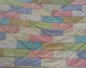 Baby or Toddler Quilt or Play Mat