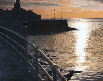 Atmospheric Aberystwyth seafront