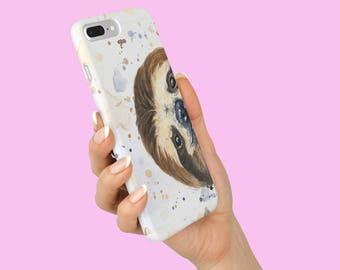Sloth Galaxy Case - Sloth Stuff - Galaxy S9 - Smiling Sloth - Samsung Galaxy Case - Best friend Gift - Bestie Gift - Sloth Phone Case