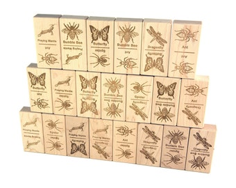 Bugs Jumbo Dominoes 21 pc Maple Blocks