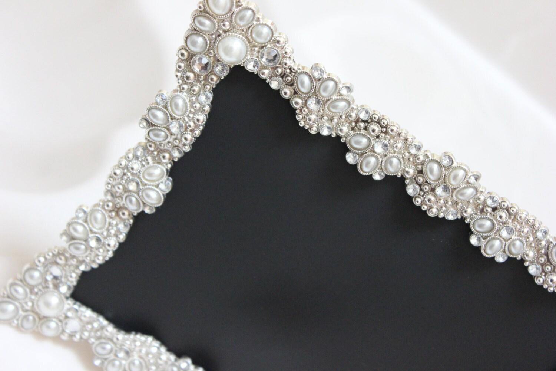 Set of 25 vintage style large jeweled rhinestone frame bling zoom jeuxipadfo Image collections