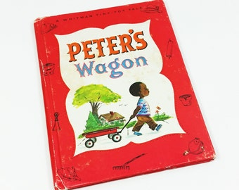 Peter's Wagon by Betty Biesterveld, 1968 Whitman Tiny Tot Tale #2942