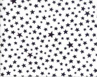 Modafications Jet White Black Stars 9886 46  by Moda