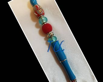 Beaded pen
