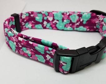 Summer Dog Collar, flower Dog Collar, Dog Collar, Dog Accessories