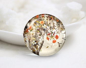 10mm 12mm 14mm 16mm 18mm 20mm 25mm 30mm Handmade Round Photo Glass Cabochons Cover (P1300)