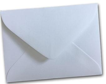 Mini WHITE #17 gift card envelopes - 50 pack