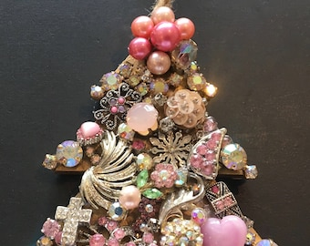Holiday Ornament in pink