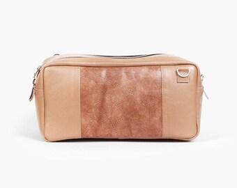 "Crossbody Purse ""Abigail Latte"", Autumn Bag, Leather Crossbody Bag, Beige Leather Bag, Genuine Leather Crossbody Purse / Beige bag"