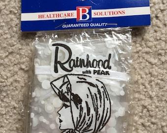 Vintage Plastic Rainhood 1970s - Price Reduced!