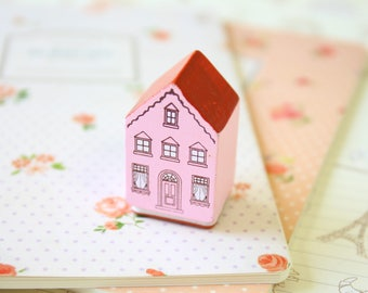 Country Item Story House rubber stamp