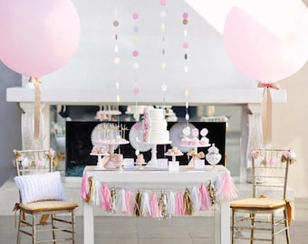 Giant Pink Balloon ...
