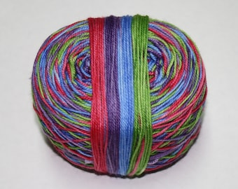 Zombies Gotta Knit Self Striping Hand Dyed Sock Yarn