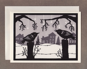 Winter Song - Greeting Card