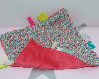 Taggy liberty Eloise turquoise / coral soft!