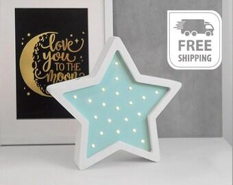 Nightlight Star 4500 ,Star night light,handmade nightlight,baby nightlights,girls nightlight,baby nightlight