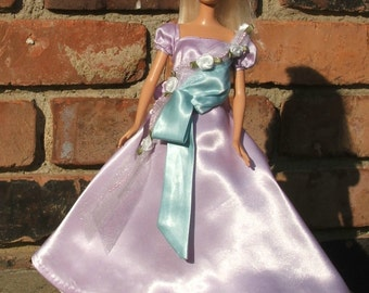 Victorian Lavendar outfit fits Barbie and other 11 1/2 inch dolls