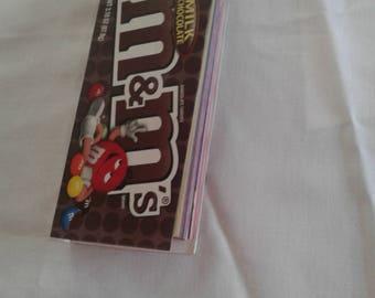M & M box sketch book