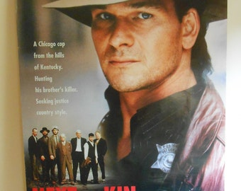Next Of Kin (1989) Original Movie Poster Patrick Swayze Liam Neeson 27x40