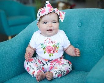 1st Birthday Graphic Baby Bodysuit Turning One Boho baby Baby ONESIE ® baby girl onesie christian baby onesie scripture baby clothes