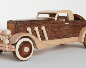 Toy, wooden car, transformer, handmade, office desc decor