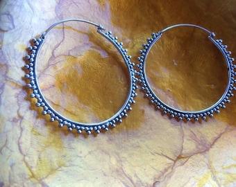 Tribal dot earrings