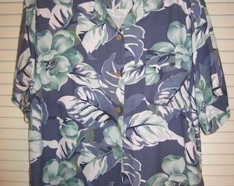 Man's Tommy Bahama silk shirt