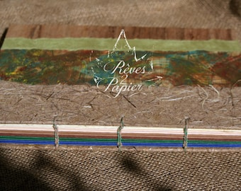 Nature book. Journal, sketch book, book of secrets...