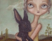 Ingrid and the Grey Bunny...