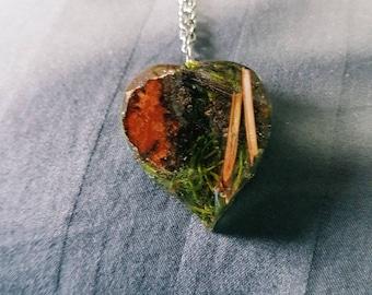 Canadian Forest Leaf Necklace
