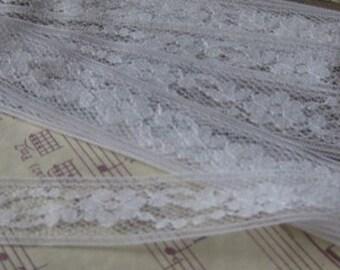 Vintage White Lace- 3 Yards