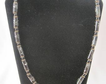 """24"""" Vintage Cloisonne Necklace"""