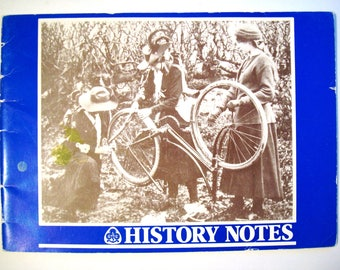HISTORY NOTES Vintage book Girl Guide Movement WAGGGS World Association of Girl Guides & Girl Scouts Thinking Day Baden Powell Chief Guide