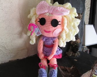 crochet doll. Made to order only