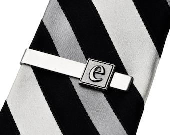 Customizable Initial Tie Clip