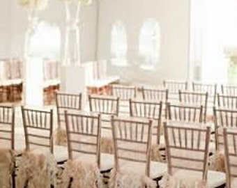 Wedding- Special Event Chiavari Chair Cover
