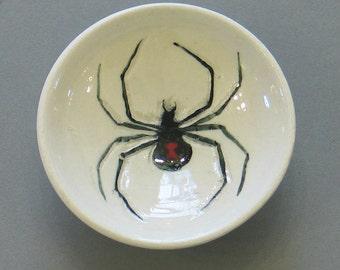 Black Widow Spider Bowl