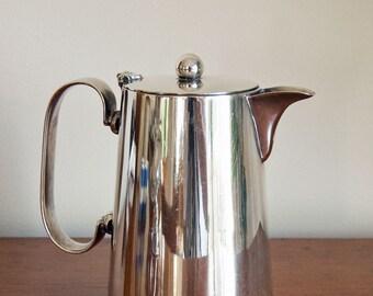 Vintage English Silver EPNS Hot Water Jug