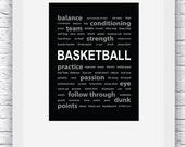Basketball Print, Basketb...