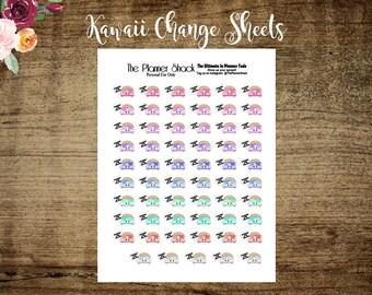 Kawaii Beds   Kawaii Change Sheets   Printable Planner Stickers   Planner Printables   Printable   Beds   Cut File