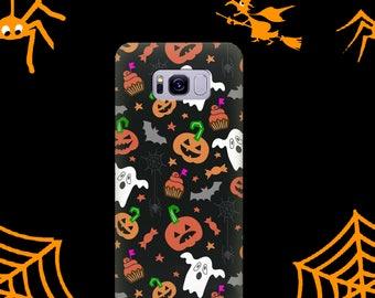 Galaxy A5 2016 case Halloween case Galaxy A5 2017 case Pumpkin case Galaxy A3 case Galaxy A3 А2017 case ghost case Bats case halloween gifts