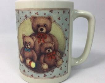 Otagiri Teddy Bear Ceramic Mug