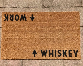 Whiskey / Work™ Door Mat (doormat)