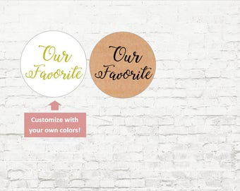 Our Favorite Personalized Stickers, Custom Wedding Stickers, Baby Shower, Wedding Favor Stickers, Envelope Seals, Invites