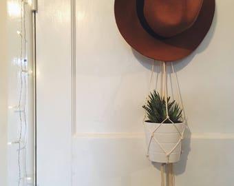 Fine Twine Macrame Plant Holder