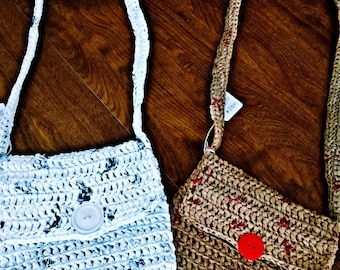 Recycled  plastic purse