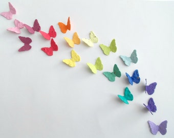 200 Plantable Paper Butterfly Confetti - Eco Friendly Wedding, Party and Shower Decor - You Choose Colors