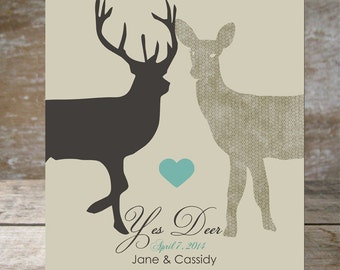 gift for men master Bedroom decor rustic wedding gift for boyfriend  gray decor Wedding Sign with deer Anniversary Sign mr and mrs wall art